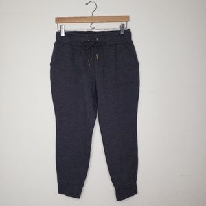 Nine West Gray Lounge Jogger Capri Pants